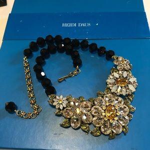 ❗️SALE❗️Spectacular Heidi Daus Floral Necklace